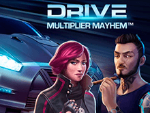 Drive: Multiplier Mayhem от Netent в казино